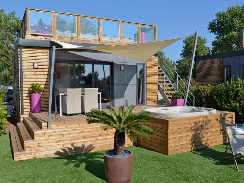 H tellerie de plein air - Idee deco petite terrasse ...