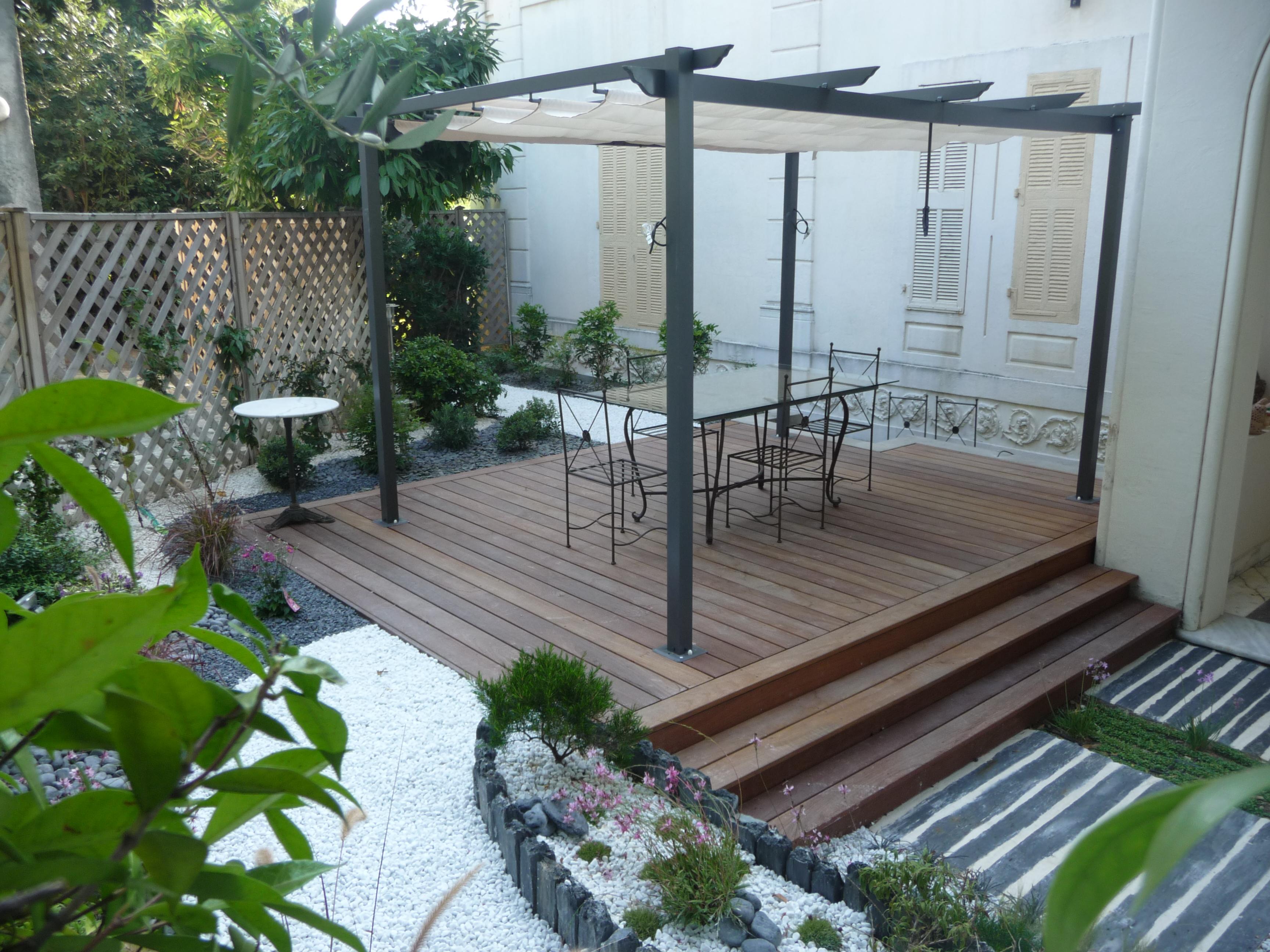 terrasse bois. Black Bedroom Furniture Sets. Home Design Ideas
