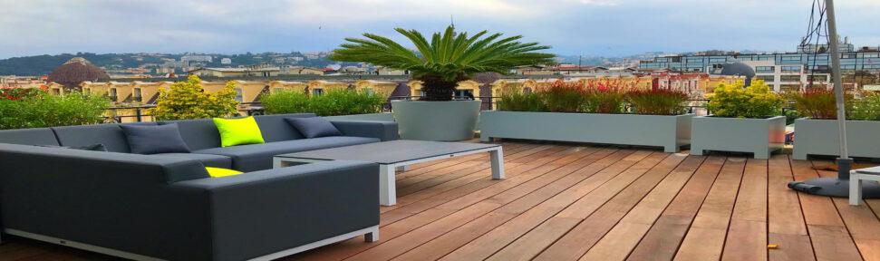 Terrasse en bois, aménagement extérieur Nice (06), Solsteel | Decobois