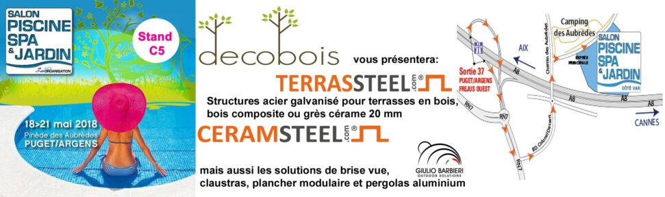 Salon Piscine, Spa & Jardin : Côté Var du 18 au 21 mai 2018 à Puget ...