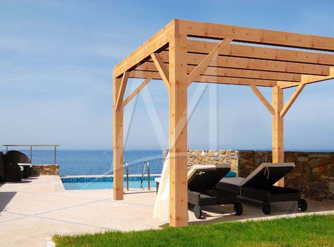 pergola bois modulable vincennes 650x481. Black Bedroom Furniture Sets. Home Design Ideas